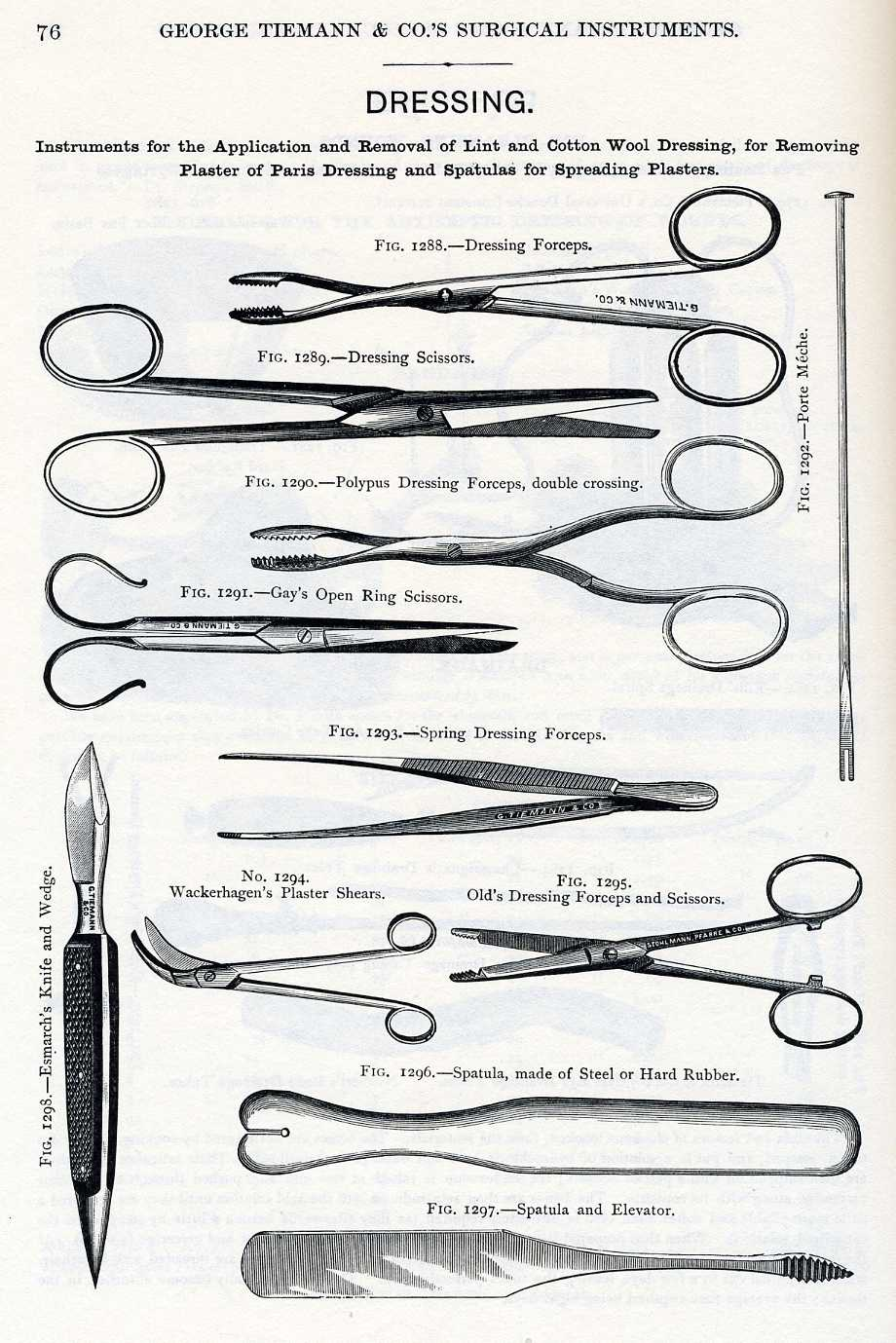 List Surgical Instruments Names http://medicalantiques.com/civilwar/Civil_War_Articles/Evaluating_Civil_War_pocket_surgical_cases.htm