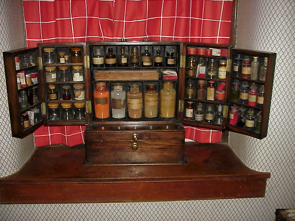 PAINTERS FIELD CASE (PFC).jpg (105218 bytes) ... - Medical Antiques: Apothecary And Drug Kits